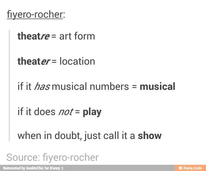 Thank You Dear Friend Who Wrote This Theatre Musicals Words
