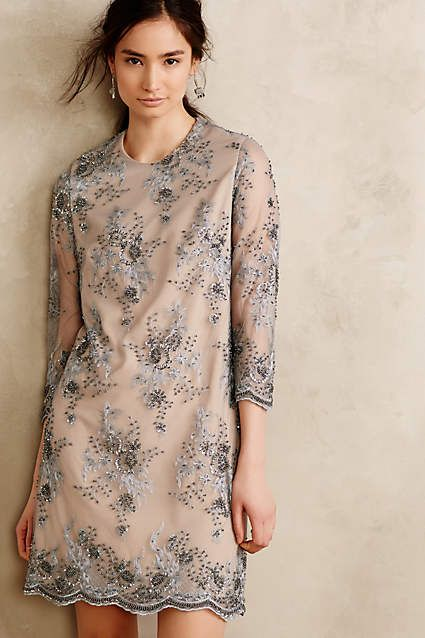 Frost Flower Shift - anthropologie.com#anthrofave