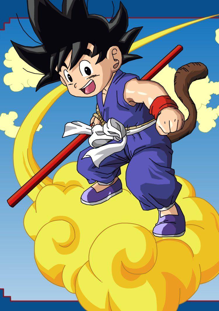 dragonball z - 120807. Kid Goku and Nimbus by eggmanrules on DeviantArt 9e9b1490ed354
