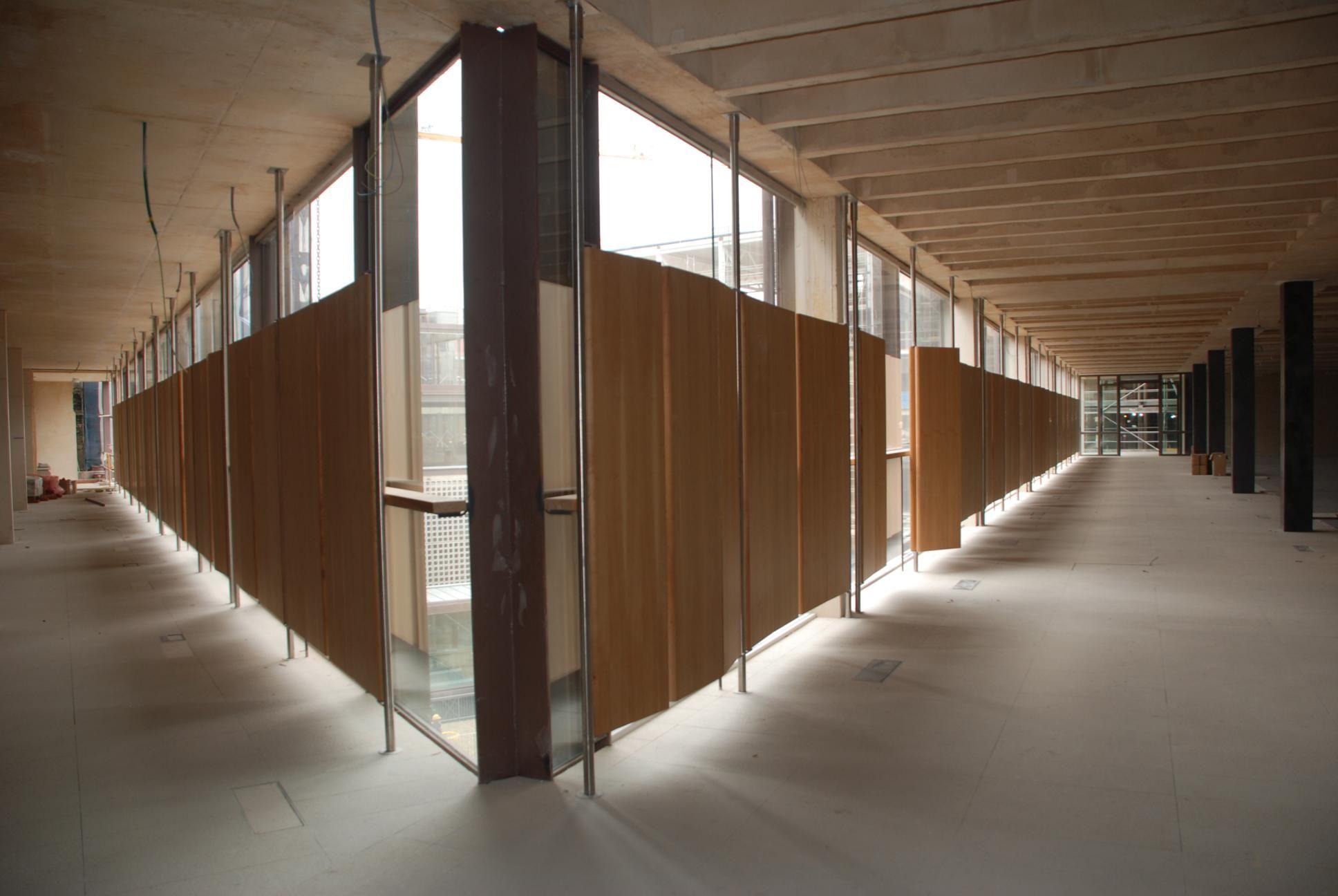 Guillén Carpintería de madera. Colegio de Arquitectos de Madrid ...