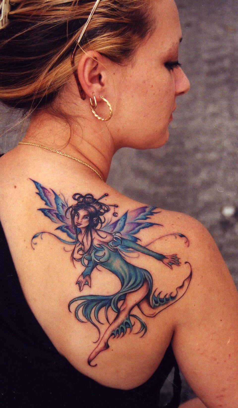 amy brown fairy tattoo tattoos pinterest tatouages. Black Bedroom Furniture Sets. Home Design Ideas