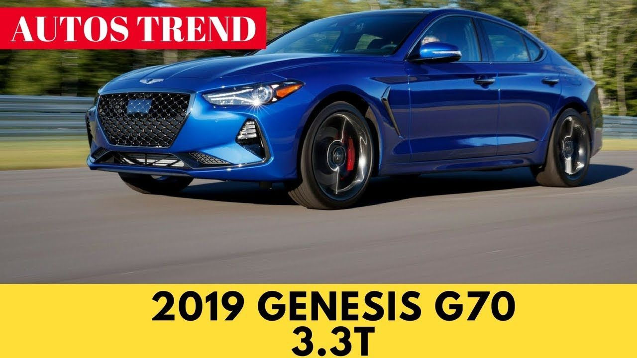 First Look & Review 2019 Genesis G70 3 3T The New Sport