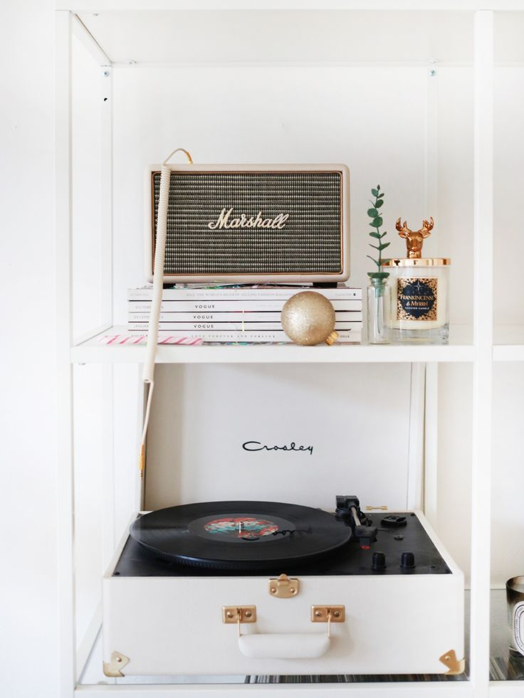 Five of the best christmas playlists interiors pinterest crosley record player d cor and room for Best bluetooth speaker for living room