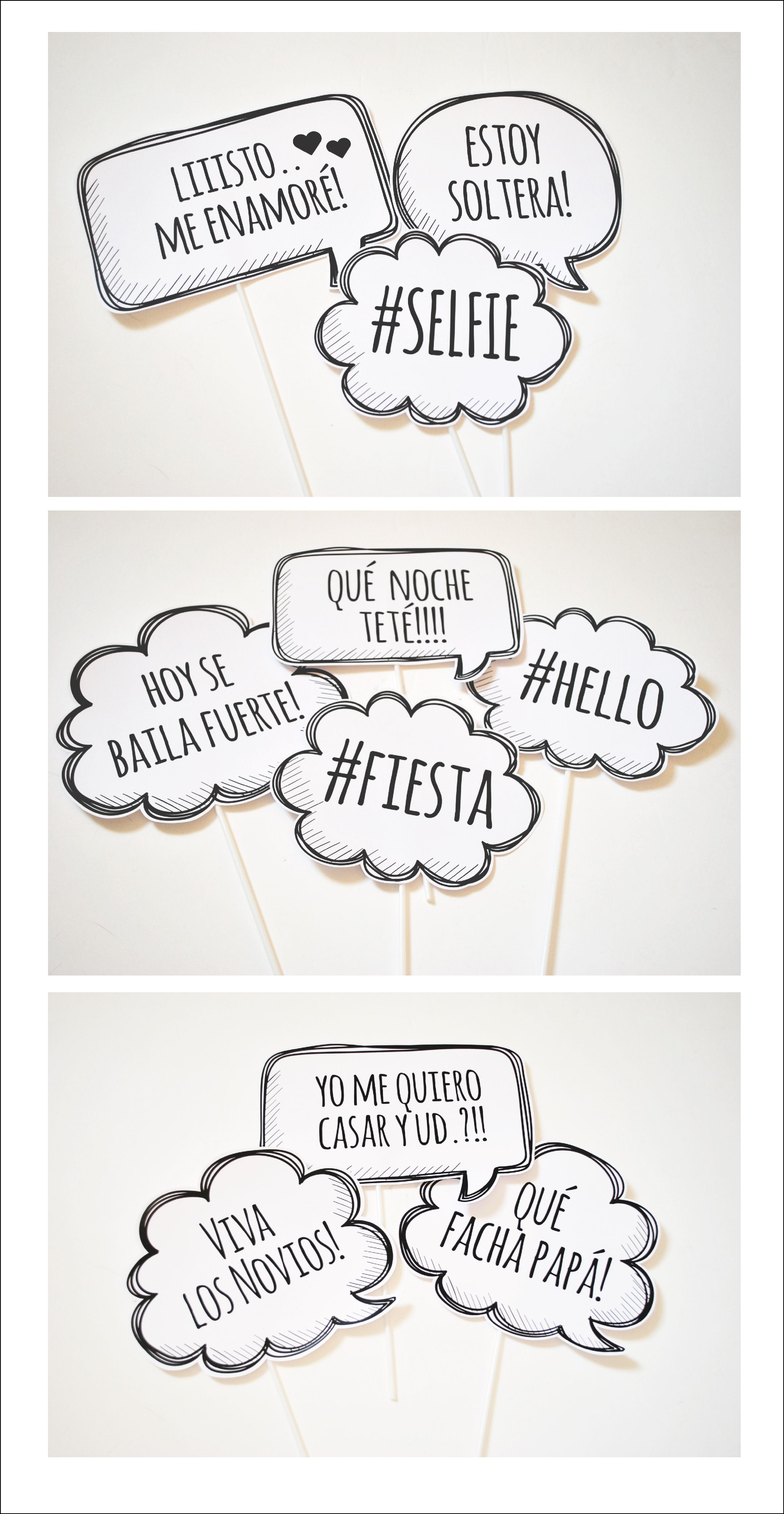 Photo Props Phrases Photoprops Party Photobooth Wedding