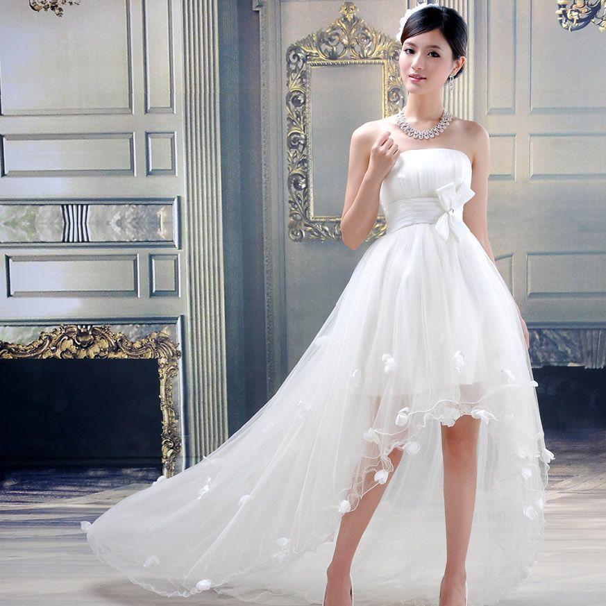 Wedding Dress Tube Top 2018 Princess Bride Long Trailing: Fotos Vestidos De Novia, Vestidos De Novia