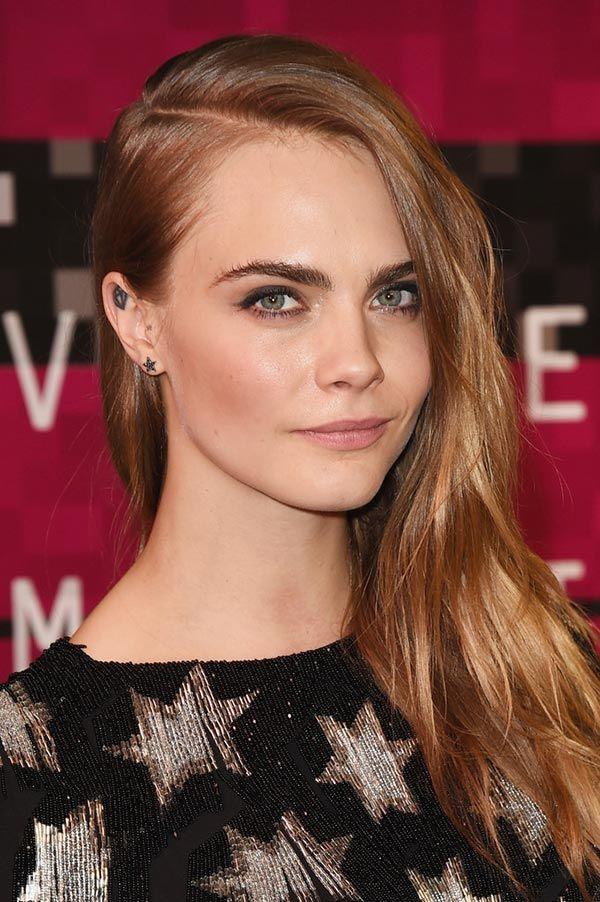MTV VMAs 2015 Beauty Inspiration: Cara Delevingne #beauty #hairstyles
