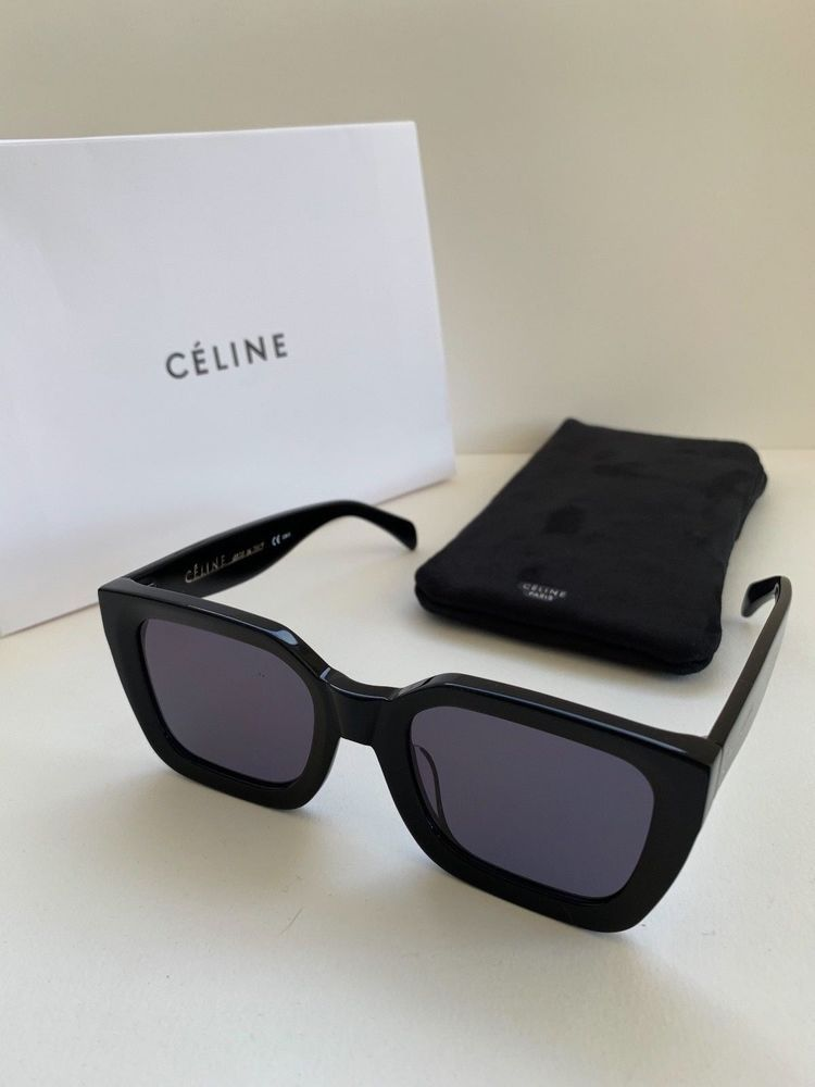 7a590f3afe4f New Celine sunglasses CL41450 S 50-24 145 Black Frame with Gray Lens   fashion  clothing  shoes  accessories  womensaccessories ...