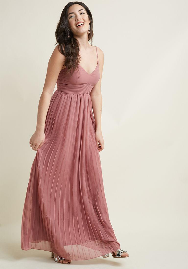 48+ Rose long dress information