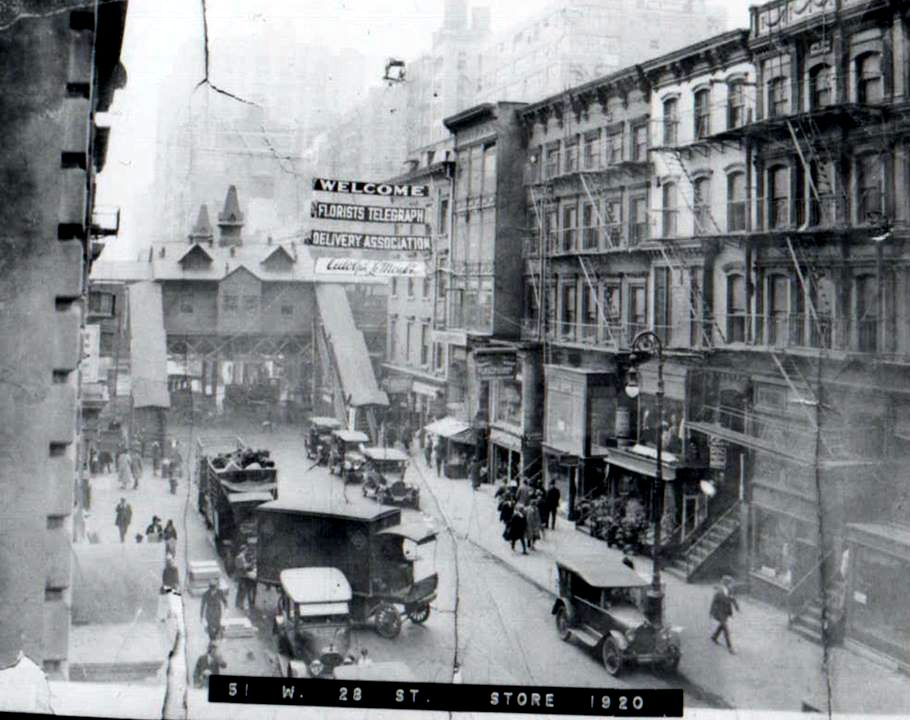 28th Street Looking Towards 6th Avenue. This Was Known As