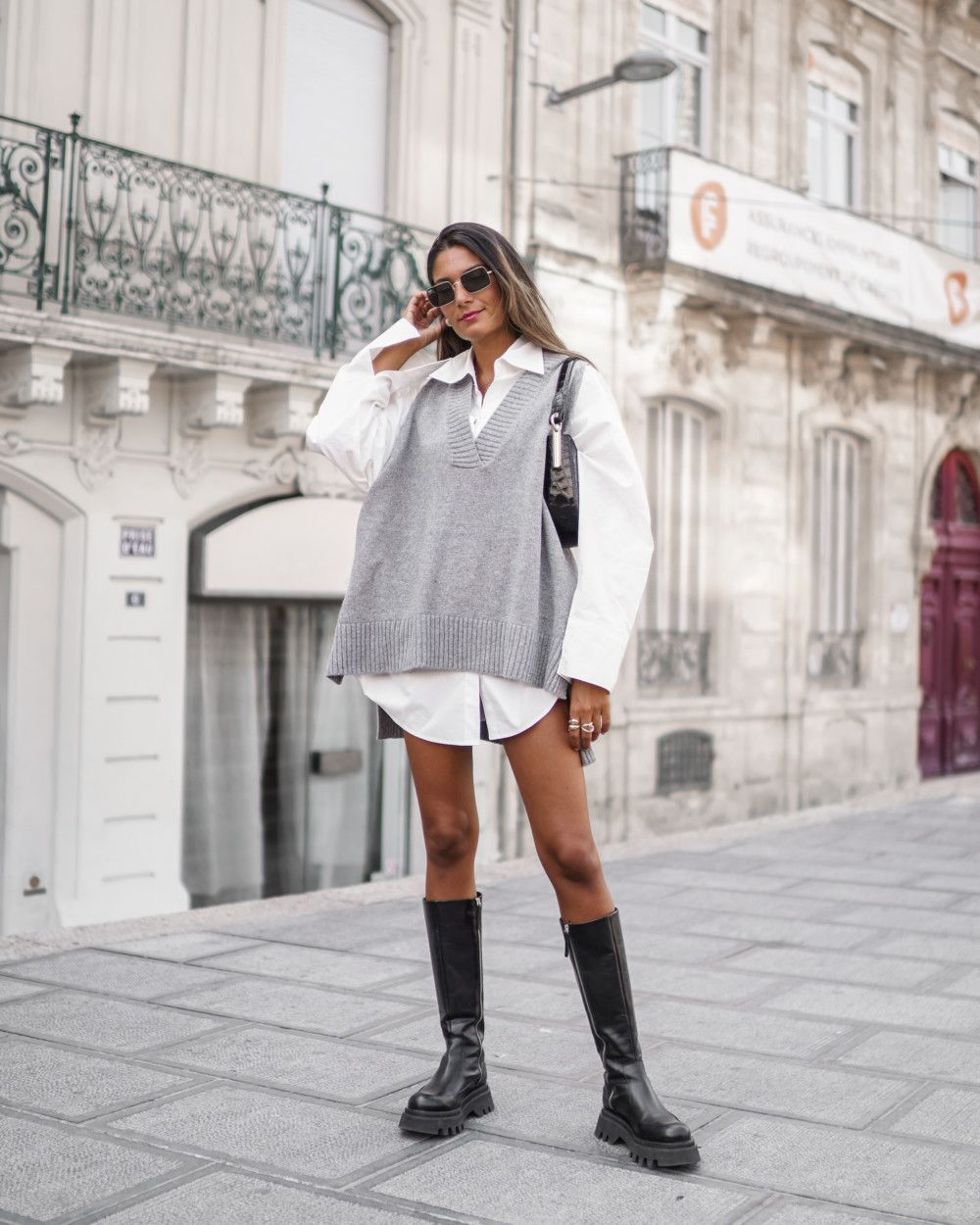 Pull papy oversize