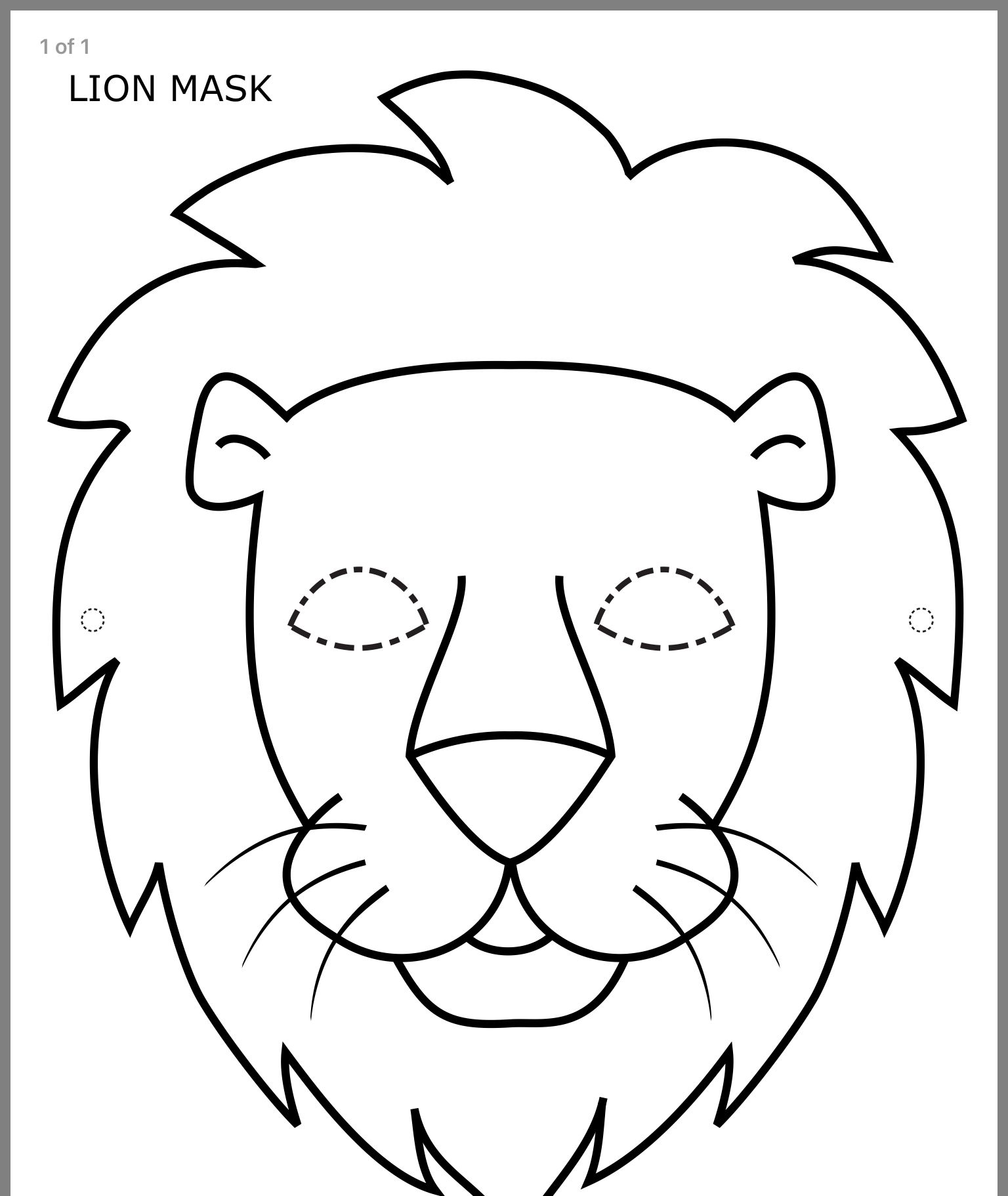Pin by Shelly Shaw on Kids crafts Lion coloring pages