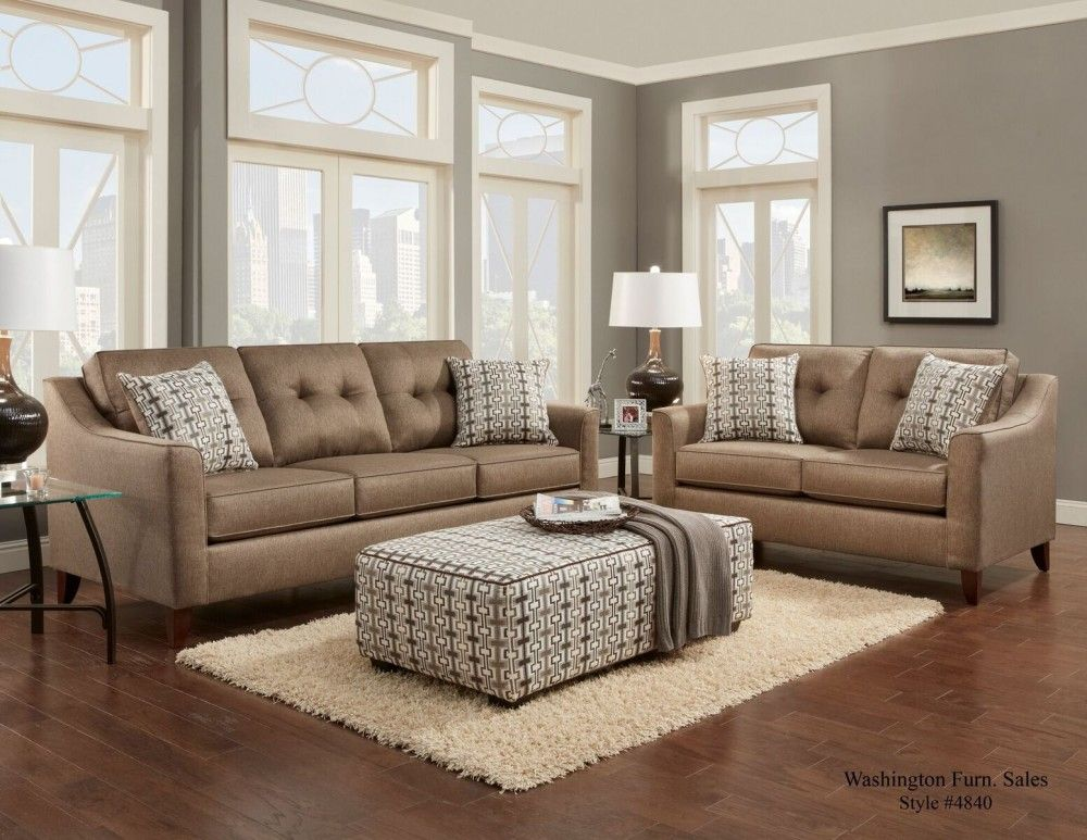 4840 Stoked Oatmeal Sofa Loveseat Home Design Living Room Cheap Living Room Sets Living Room Sets
