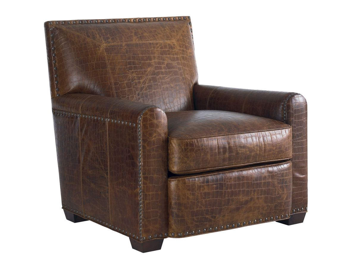 Road To Canberra Stirling Park Leather Chair | Lexington Home Brands