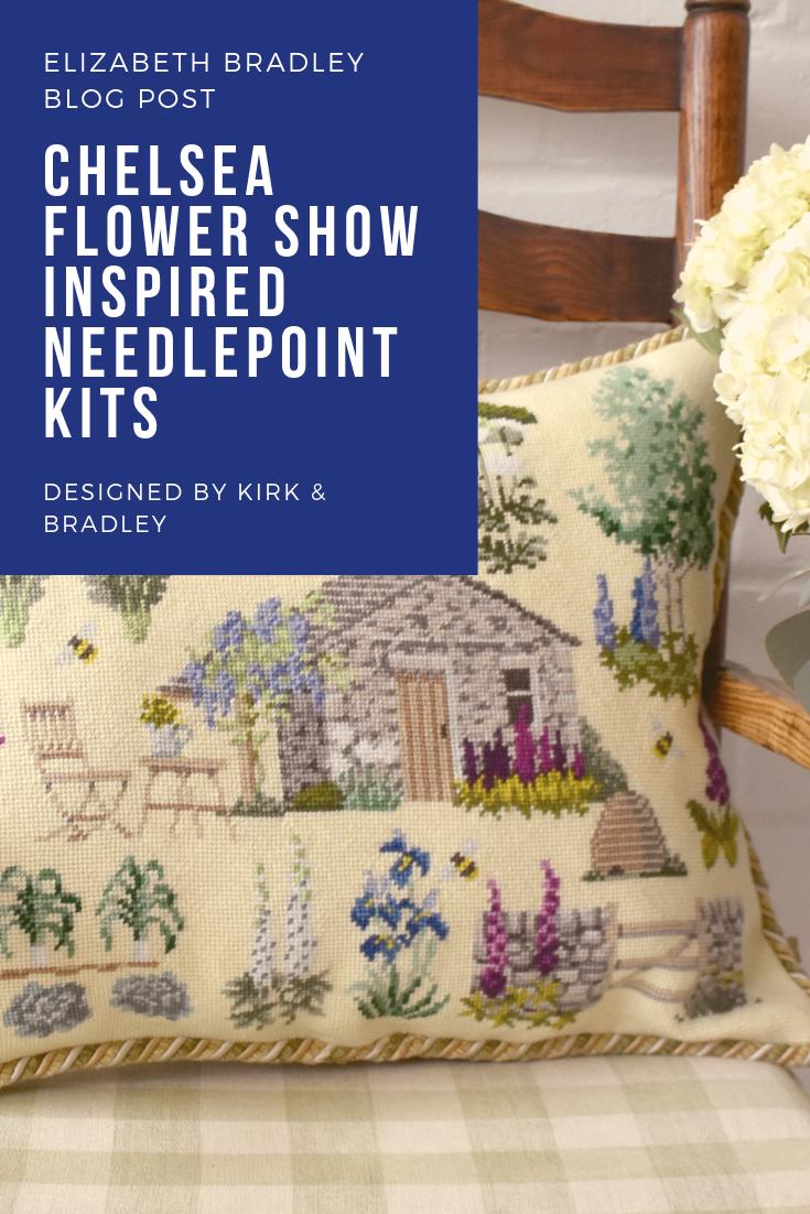 Kirk Bradley Kits For Needlepoint Kits Needlepoint Pillow