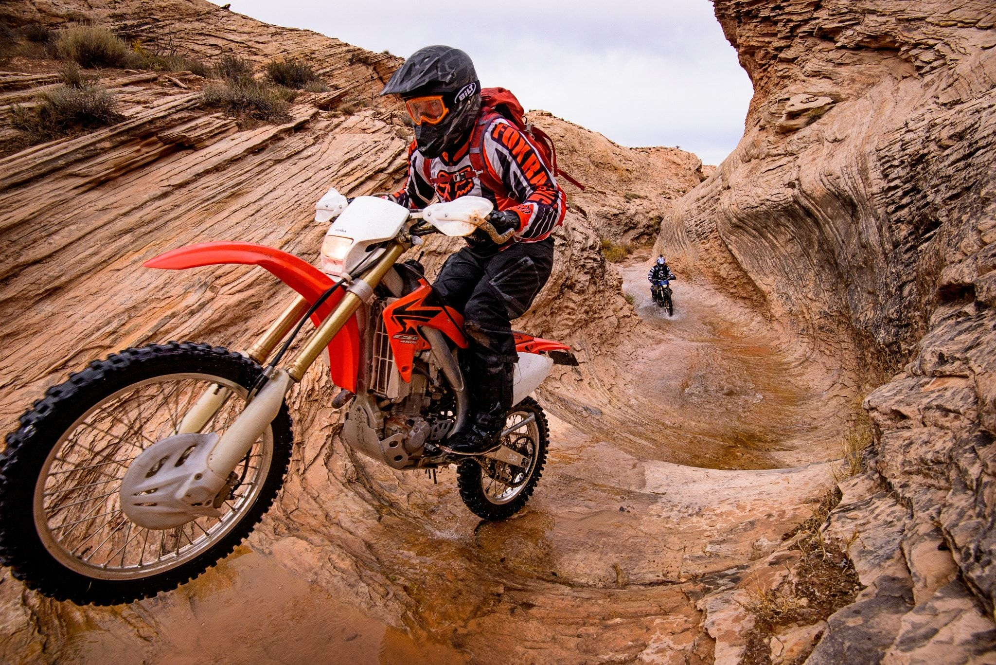 The Tubes Dirt Bike Canyoneering Sure Why The Heck Not White