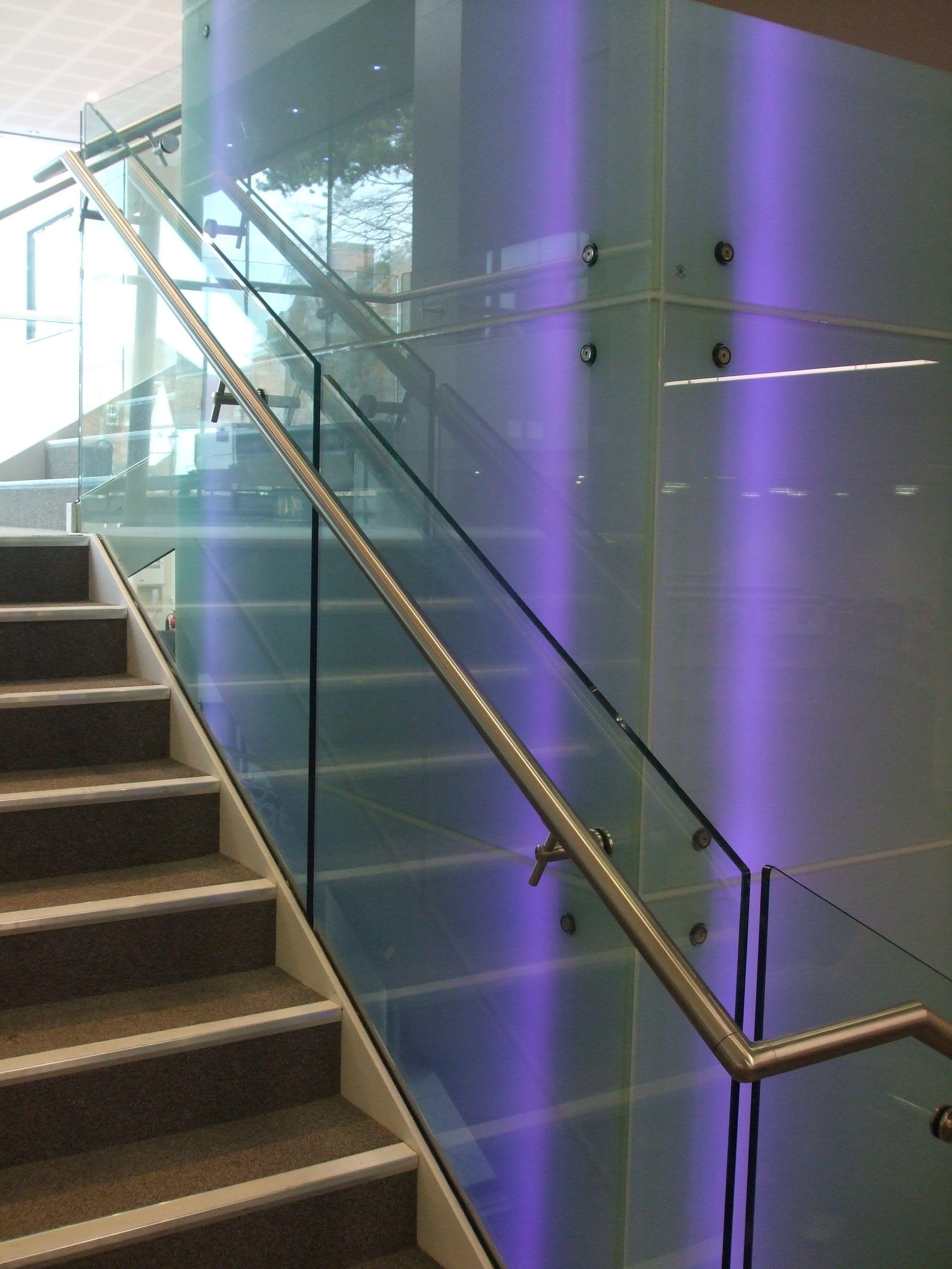 Best Frameless Staircase Balustrade Design To Liftshaft 400 x 300