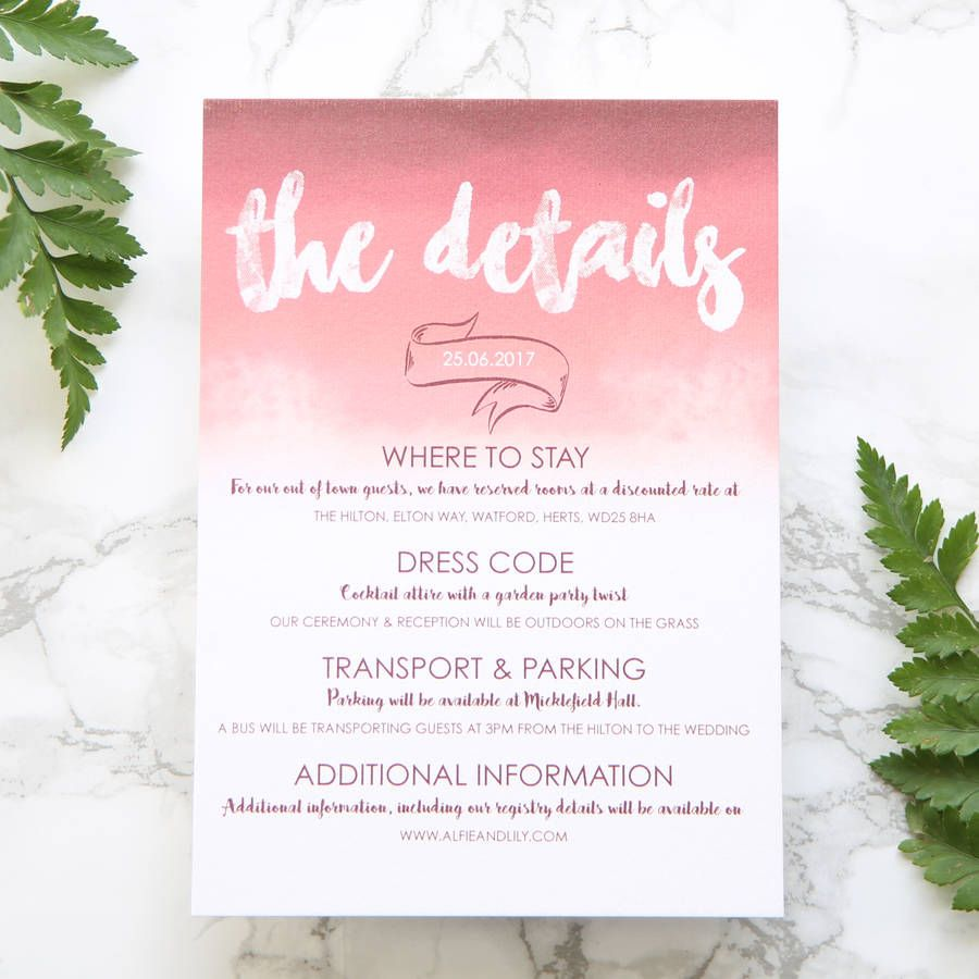 Image result for wedding details card with dress attire invites image result for wedding details card with dress attire stopboris Gallery