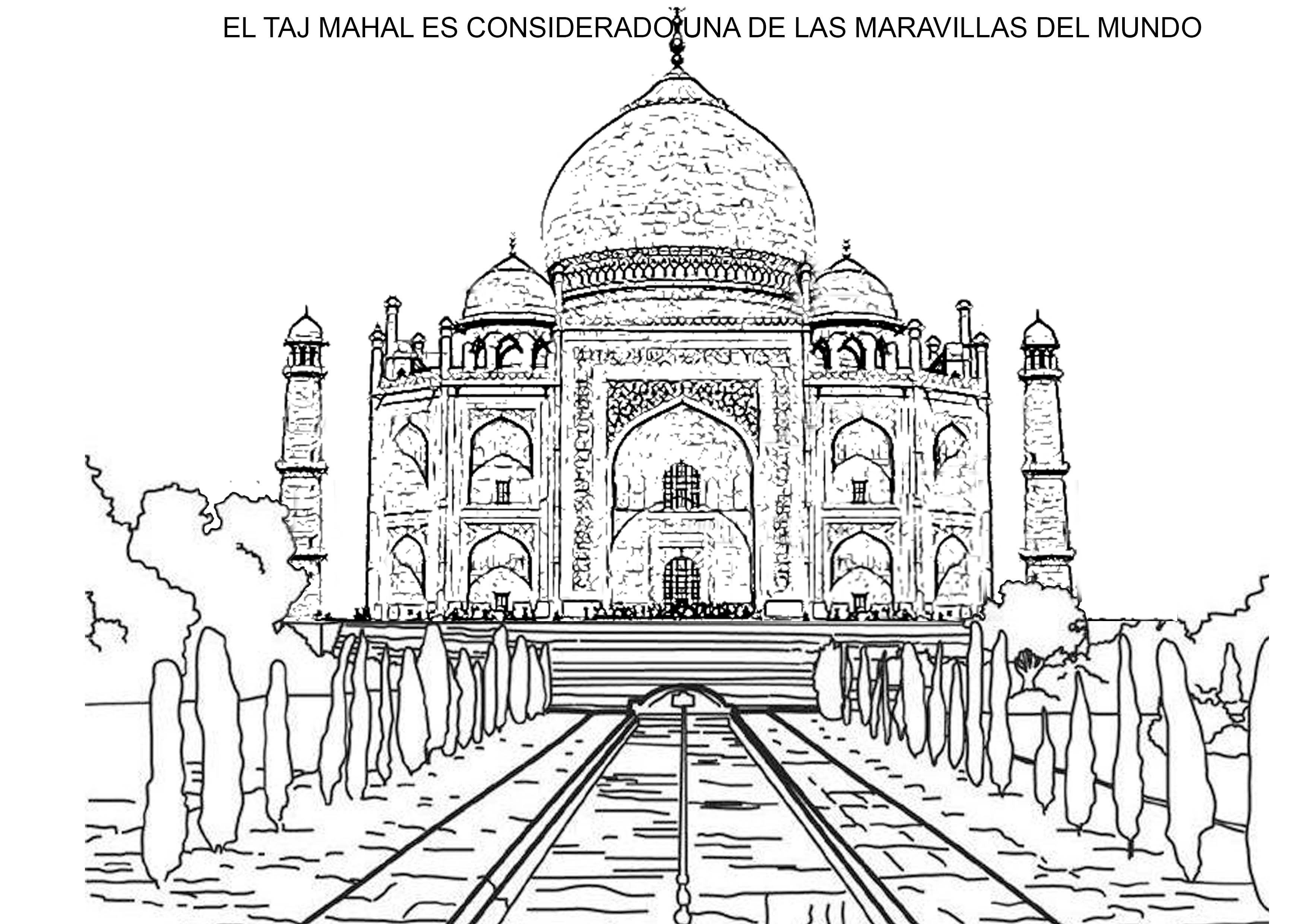taj mahal | Arte con líneas | Pinterest | Taj mahal