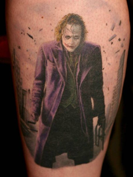 why so serious joker tattoo design tattoo design ideas crazy joker tattoos pinterest. Black Bedroom Furniture Sets. Home Design Ideas