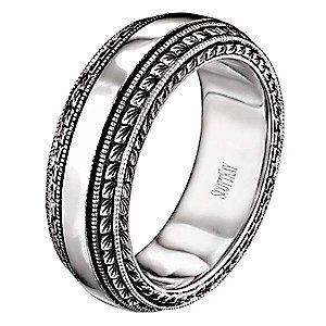 Vintage Collection Scott Kay Mens Wedding Ring Mens Wedding Rings Rings For Men Mens Wedding Bands Unique