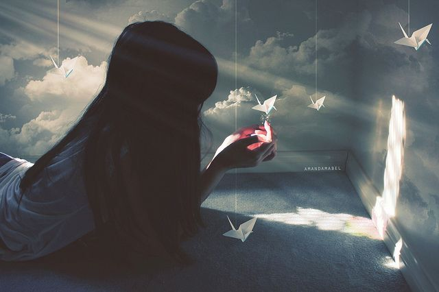 I Will Write Peace on Your Wings and You Will Fly All Over the World  photo by Amanda Mabel