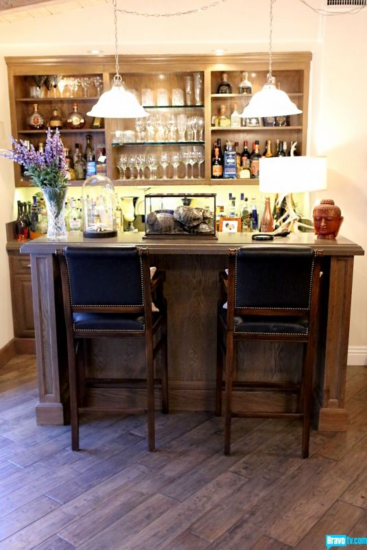 Personal Bar In Love This Thing Is Stocked Full Kyle Richards