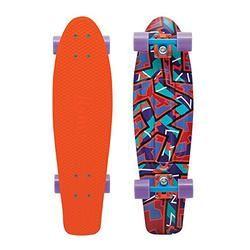 Eastern Skate Supply Essentials Penny Plastic Nickel Spike Complete Skateboard Cruiser