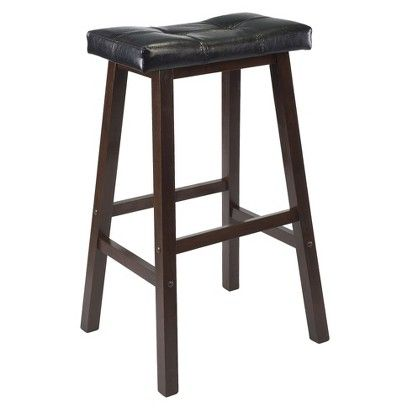 13++ Winsome wood saddle seat stool info