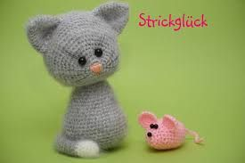 Image result for how to make step by step crochet puffy cat