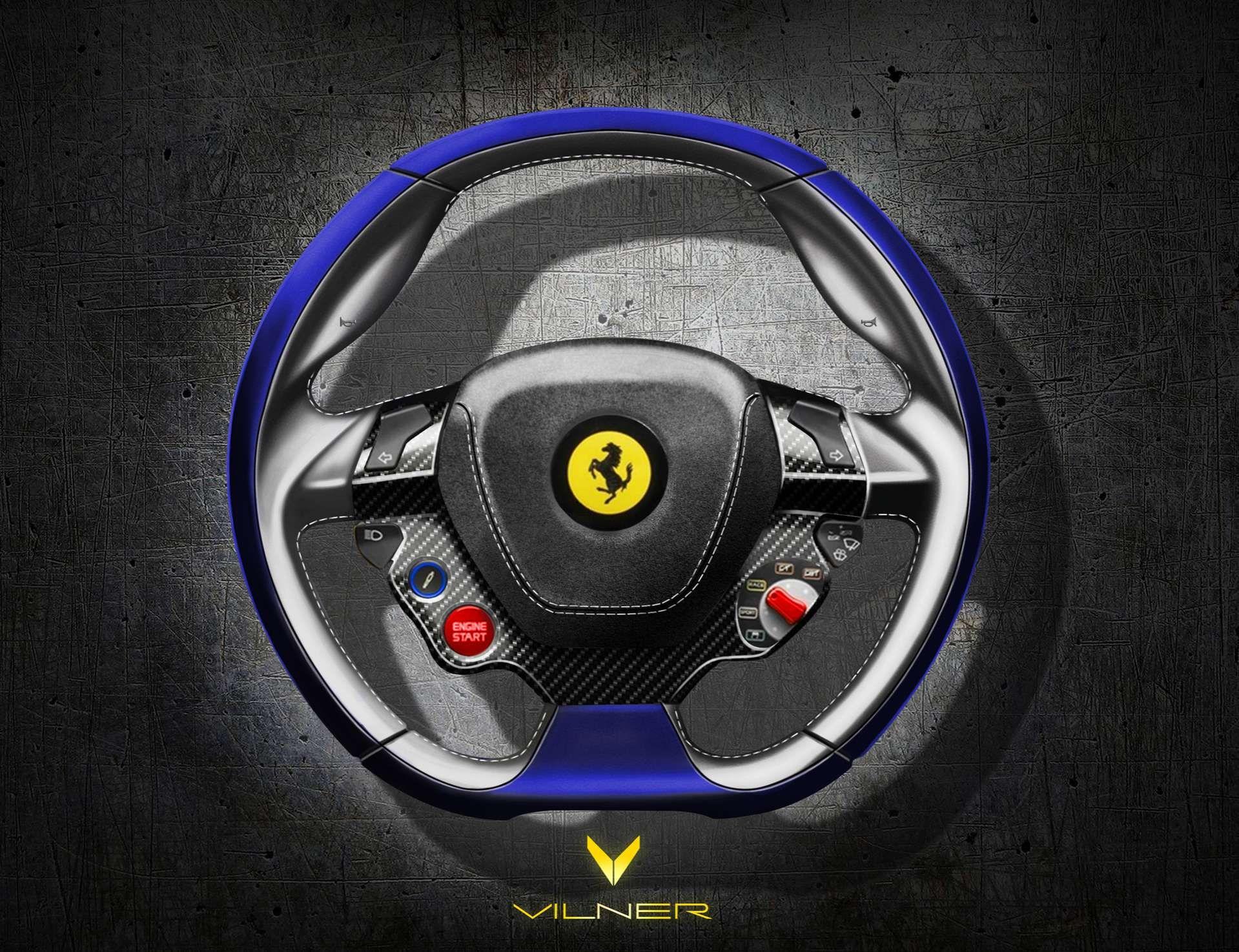 Vilner Ergonomic And Sport Steering Wheels Tapiz Planos