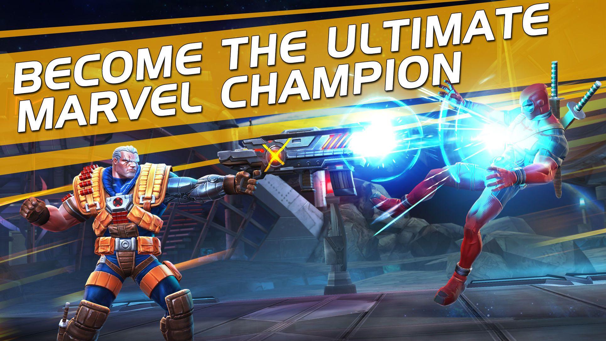 Marvel contest of champions adventureactionios
