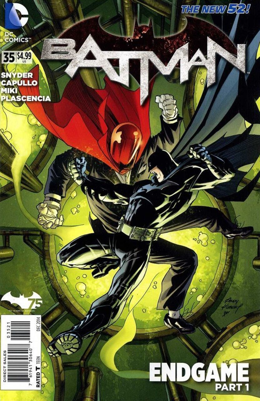 Batman 35 Endgame Part One The Pale Man Issue Comics Covers