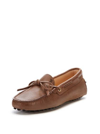 Gommino Leather Driver by Tod's at Gilt