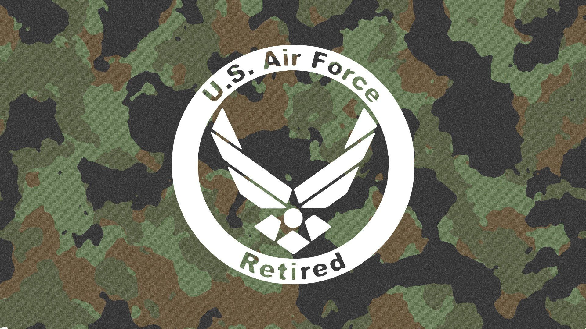 Retired US Air Force Decal Military Decal Air Force