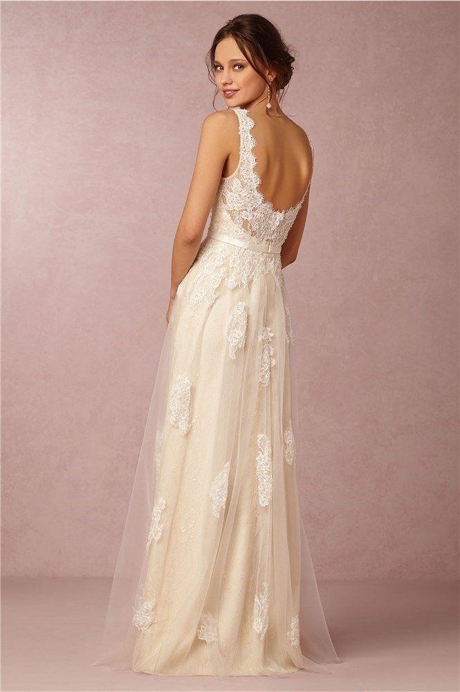 20 vestidos de novia con escote a la espalda para casarse en 2016 ...
