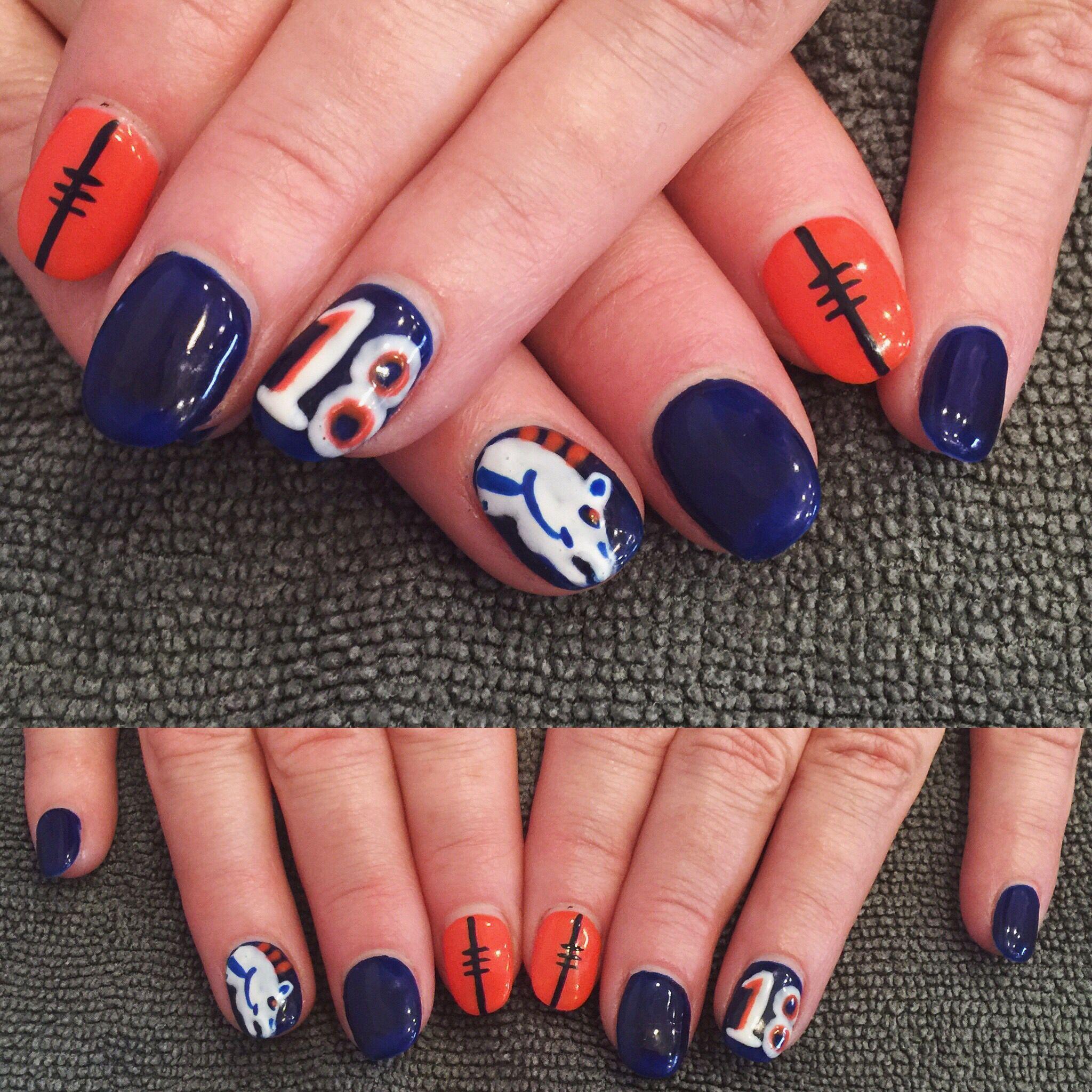 Fantástico Carolina Panthers Esmalte De Uñas Azul Cresta - Ideas ...