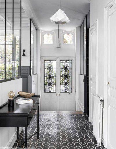 couloir noir et blanc 5 ides pour crer la surprise blog dcoration hall foyers and entrance halls