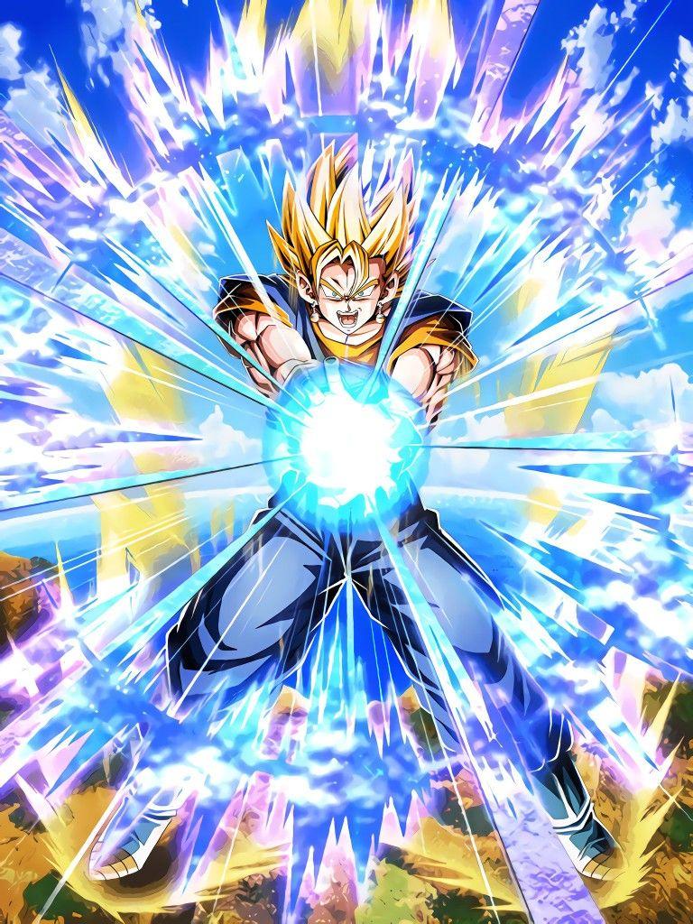 Lr Super Vegito Active Skill Hd Anime Dragon Ball Dragon Ball Wallpapers Dragon Ball Artwork
