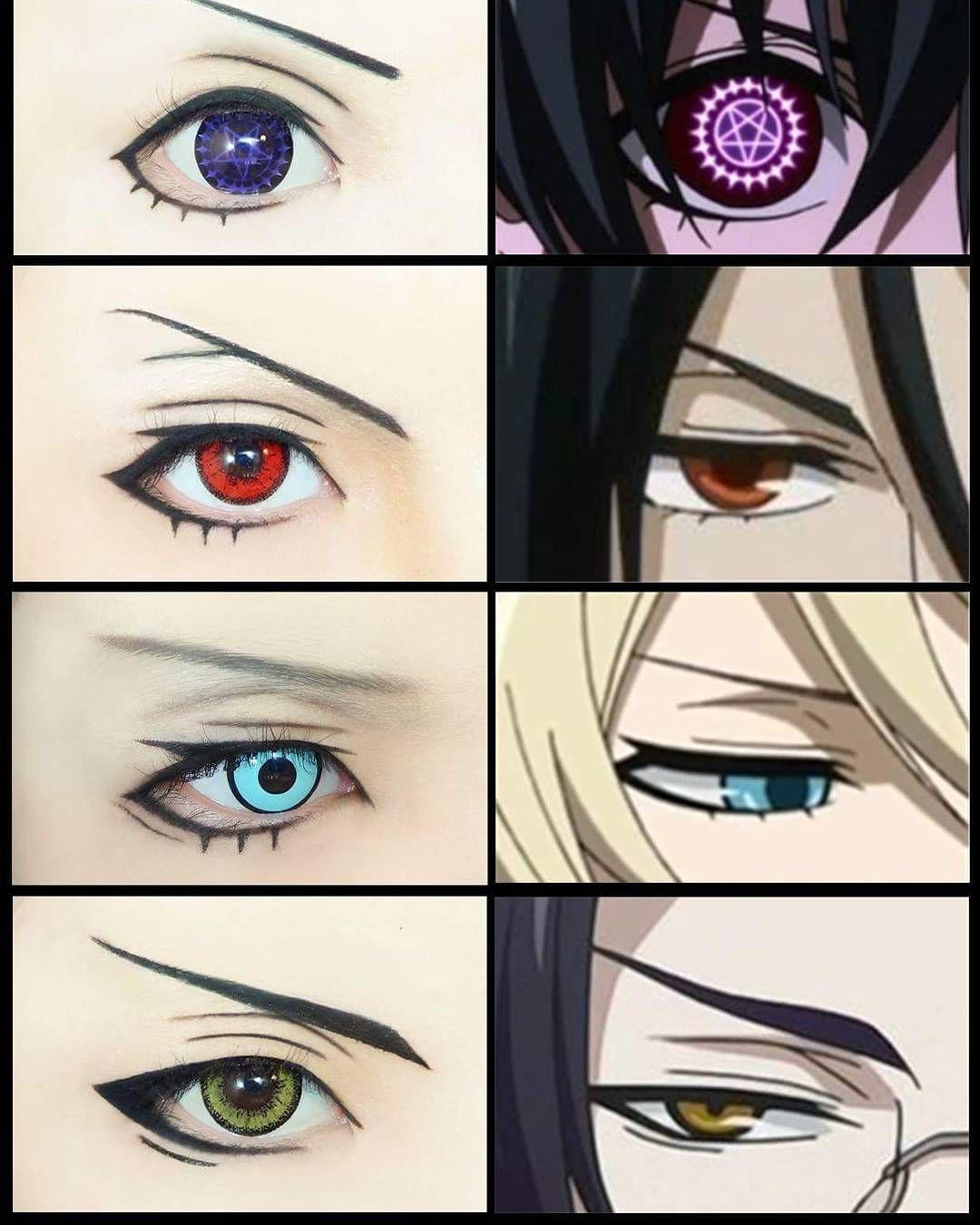 Black butler eyes IRL sooo pretty! Cosplay Pinterest