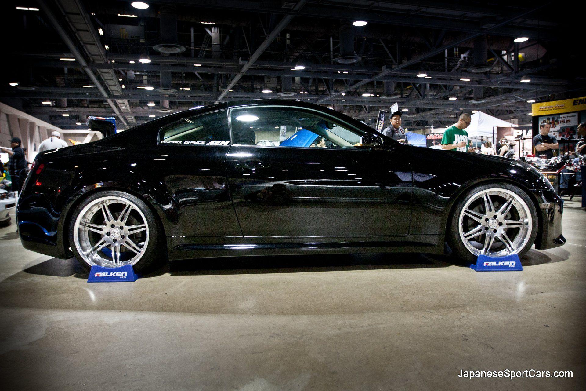 2007 Black Custom Infiniti G35 Coupe With Venaci Gs5 Wheels