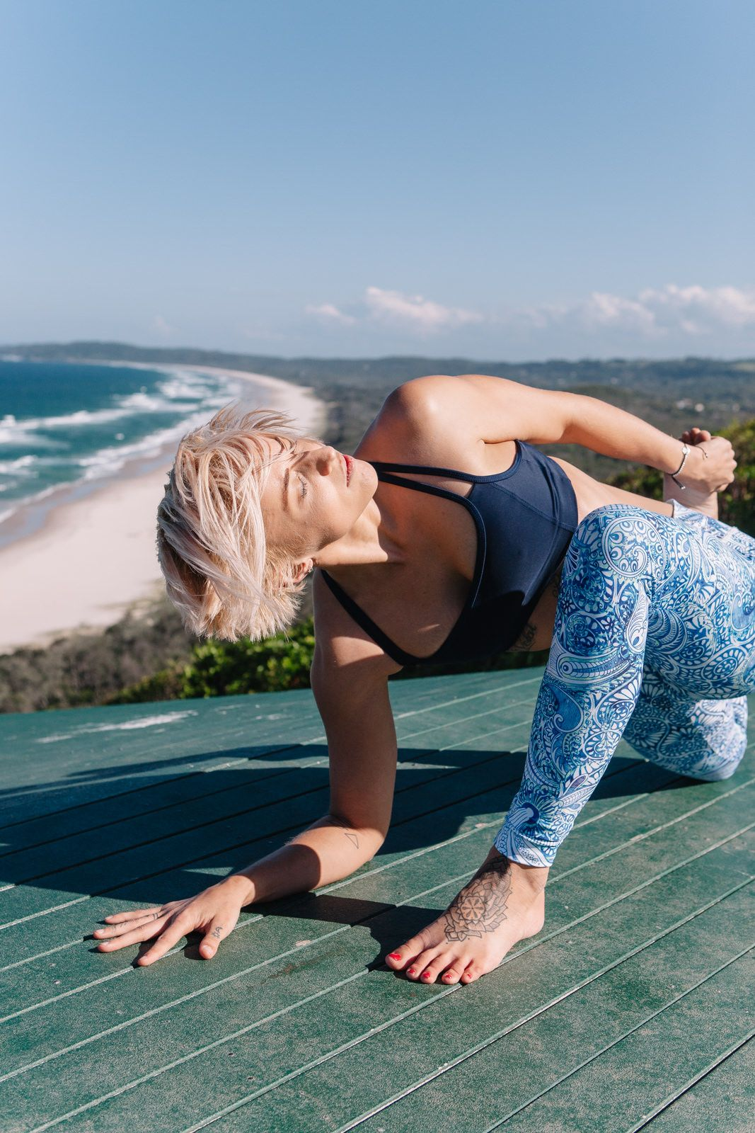 Camille Nathania • Blog: Yoga with Danique: Byron Bay.