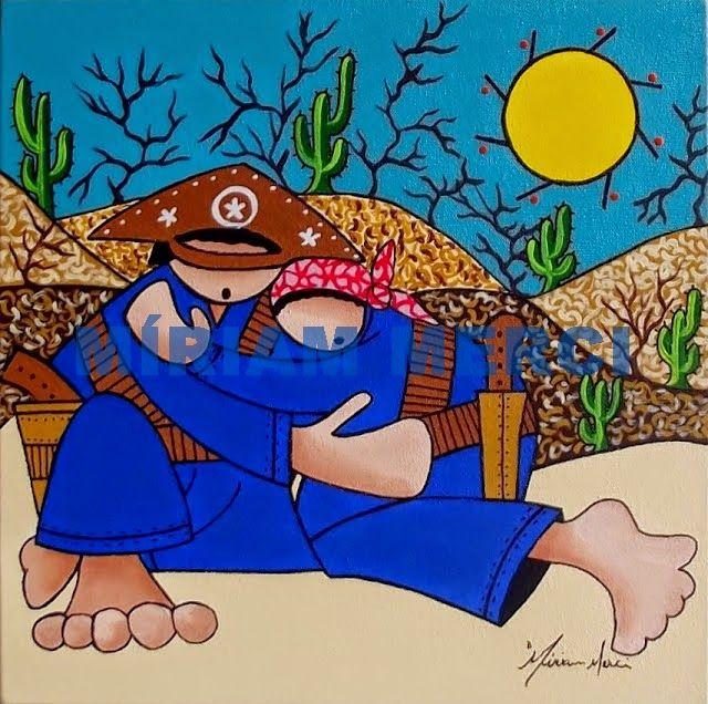 Resultado De Imagem Para Pintura Lampiao Maria Bonita Com Imagens