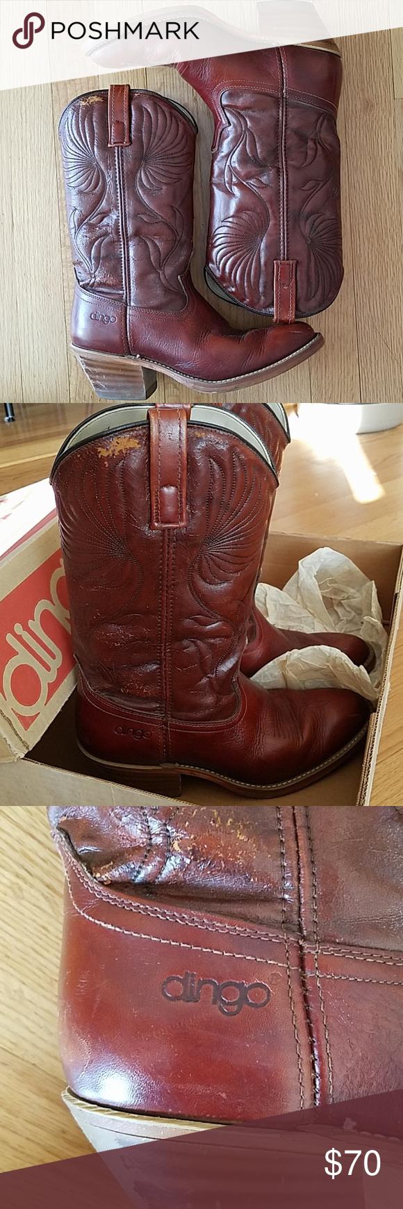 878c51f347b Vintage Dingo Men's Cowboy Boots Vintage Dingo Men's Cowboy Boots ...