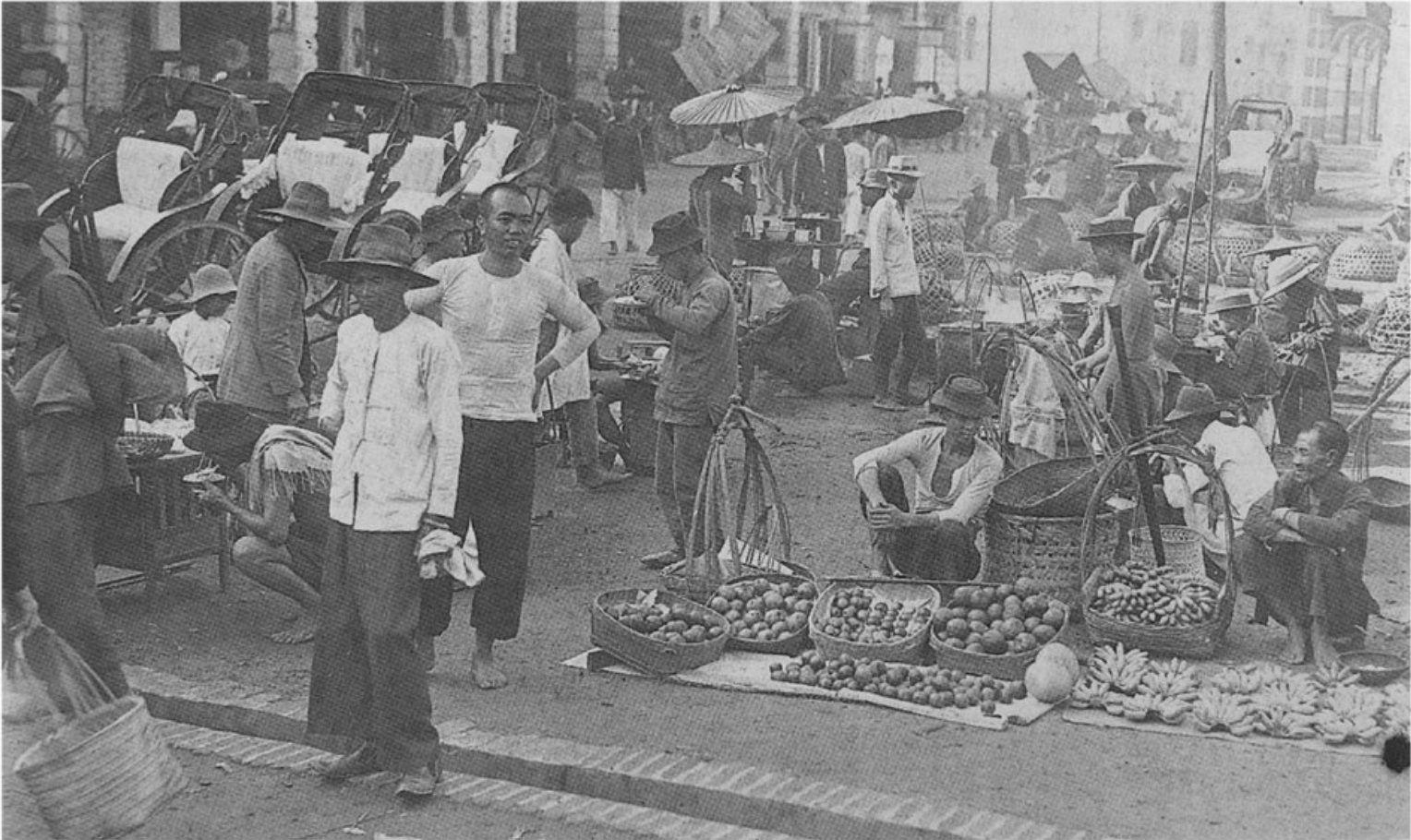 1920s Rodger Street (Jln Hang Kasturi) just beside Central
