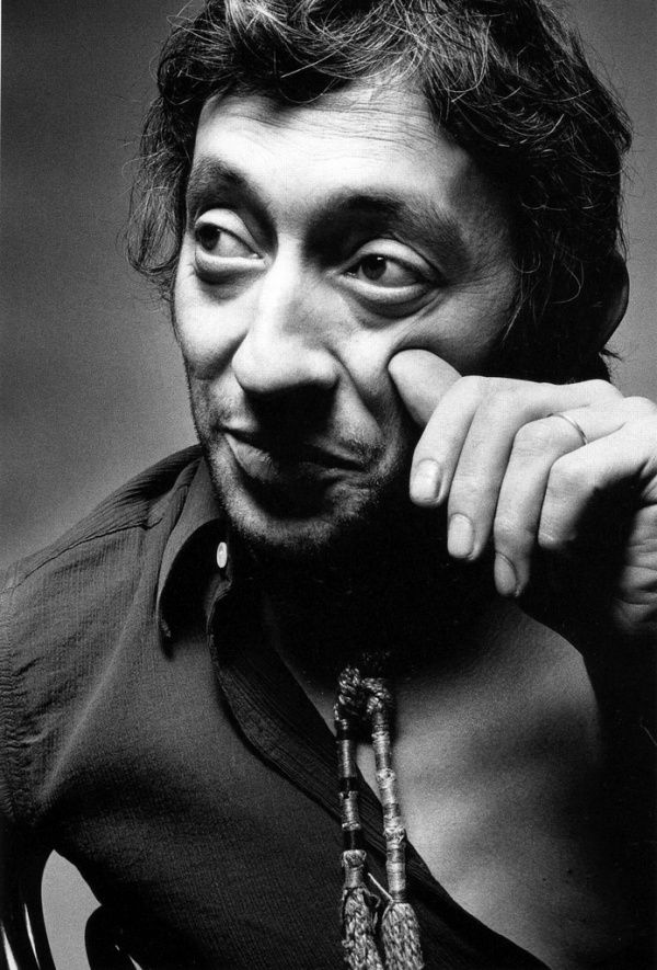 Serge Gainsbourg. Photograph by Jeanloup Sieff