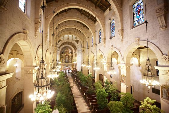 Downtown Los Angeles Wedding St Vincent S Cathedral