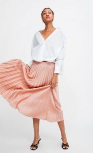 d3adce42a3c0 Φούστες Νέα γυναικεία collection Zara Άνοιξη-Καλοκαίρι 2019!