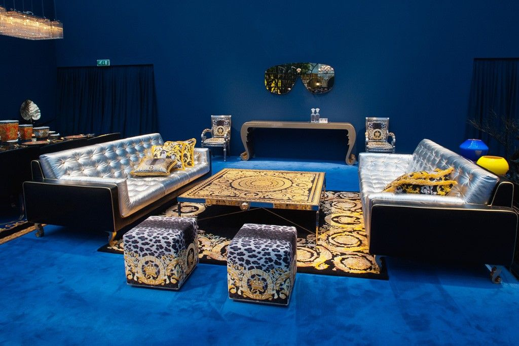 Mobili Versace ~ Designers show home collections at salone del mobile versace