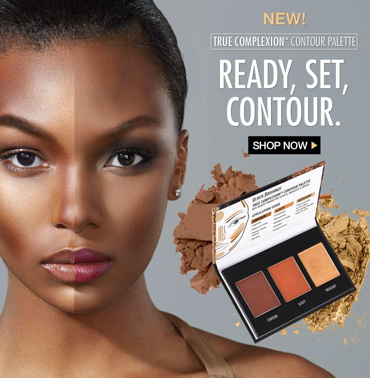 True complexion contour palette ready, set, contour
