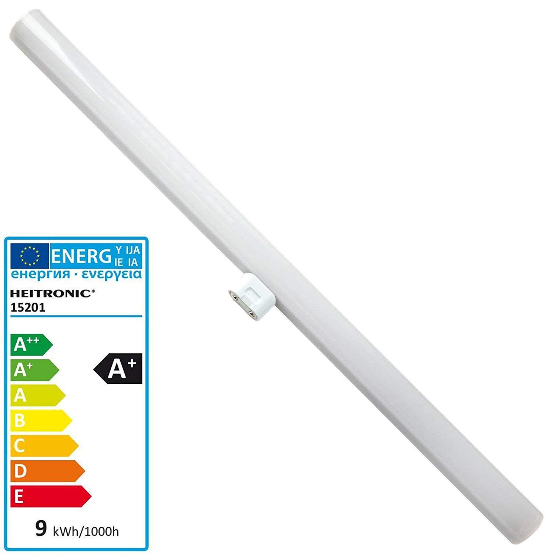 Heitronic Led Linienlampe S14d 9w 500mm Einsockel Amazon De Elektronik Lampen